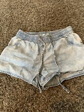 Womens Small Maurice Blue Shorts