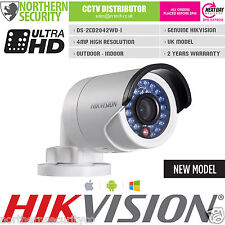 Hikvision ds-2cd2042wd-i 4mm 4mp 2mp 1080p POE WDR Di Rete Ip Telecamera Di Sicurezza