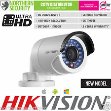 Cámara De Seguridad Hikvision 4 mm 4MP 2MP 1080P P2P Mini WDR PoE Bala Red IP