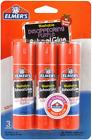 Elmer's Disappearing Purple School Glue Sticks, 0.77 oz Each, 3 Sticks per Pack