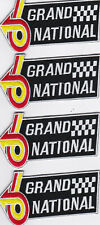 4 BUICK REGAL 2x4 GRAND NATIONAL SEW/IRON ON PATCH EMBLEM EMBROIDERED TURBO V6