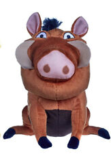 """OFFICIAL DISNEY THE LION KING PUMBA LARGE 12"""" SOFT TOY PLUSH TEDDY NEW WITH TAGS"""