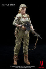 1/6 Very Cool Toys VCF-2021A Female Shooter CP Camouflage Milla Jovovich Figure