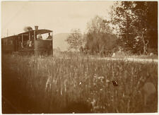 Photo Au Citrate Chemin de Fer Train 1894