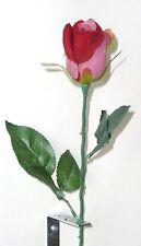 Edelrose rot samt  Kunstblumen -Seidenblumen