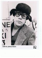 "David Johansen UK 10 Records Promo Photo 10"" x  8"""