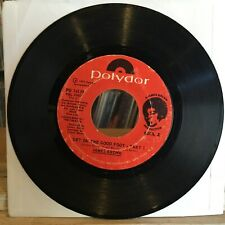 VG+ 45 RPM~JAMES BROWN~Get On The Good Foot (Part 1 & 2)~[1972~POLYDOR]~