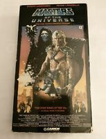 MASTERS of The UNIVERSE Live Action Movie VHS Tape 1987 Dolph Lundgren He-Man