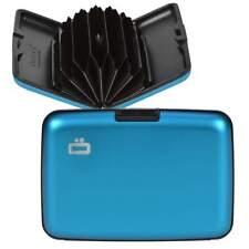 Ogon Blue Aluminium Wallet