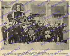 Kaiserliches Dt. Postamt Tientsin Personal Nigmann Pape Reichspost Tianjin 1901