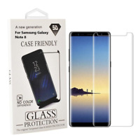 Samsung Galaxy Note 8 Case Friendly 3D Curved Tempered Glass Screen Protector Cl
