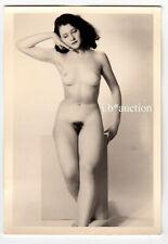#855 ROESSLER AKTFOTO / NUDE WOMAN STUDY * Vintage 1950s Studio Photo - no PC !
