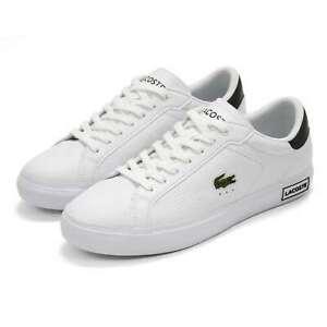 Lacoste Men's Powercourt 0721 2 SMA Leather Sneaker