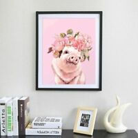 Pink Pig 5D DIY Full Diamond Painting Embroidery Drill Cross Stitch Home Decor