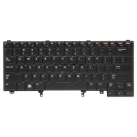 Backlit Keyboard for Dell Latitude E5420 E5430 E6420 E6430 Laptop with Pointer