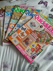 5 X Cross stitch Magazines
