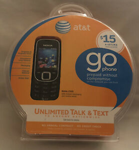 NEW! SEALED! AT&T Go Phone Nokia 2320 Classic.
