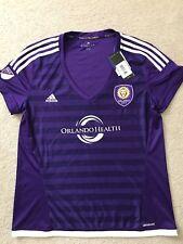 NWT Adidas Orlando City SC MLS Soccer Jersey Replica Womens Sz XL