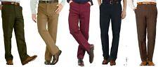 Moleskin Country Wear Trousers Hunting Work Olive Beige Navy Wine W30 upto W46