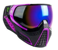 New HK Army KLR Thermal Paintball Goggles Mask - Argon Black/Purple Cobalt Lens