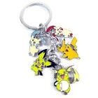 Pokemon Pocket Pikachu Raichu anime Cluster Keychain Key Rings