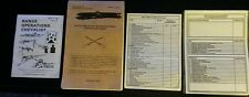1990 Battle Drills for the Infantry Rifle Platoon Squad Army manual w/checklists