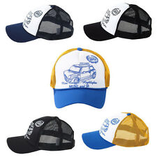 Unisex Mens Womens Cooper Car Summer Mesh Baseball Cap Trucker Snapback Hats