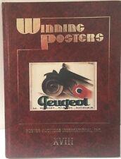 Winning Posters Auction Catalogue 1994 PAI-XVIII Peugeot Charles Loupot Rennert