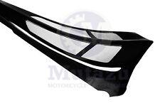 Mutazu Custom Vivid Black Chin Spoiler Scoop For Harley Touring Models FLTR FLH