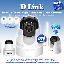 D-Link Pan/Tilt/Zoom High Definition Cloud Camera DCS-5222L NEW HD 720P UK Plug