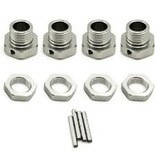 1/8 RC Car Silver Hex 17mm Alloy Wheel Hubs For Kyosho Inferno Mp9 Hpi Vorza
