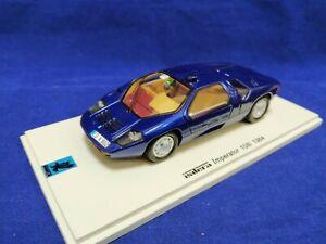 ISDERA IMPERATOR 108i COUPE -1984 - DARK BLUE 1:43 SPARK  S2230 EXTRA RARE!!!