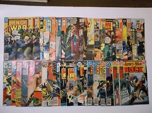 HUGE LOT OF VINTAGE WAR COMICS - SILVER AGE, BRONZE AGE- ALL PICTURED - SGT ROCK