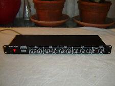 Ashly SC-63, Blackface Version, 3 Band Parametric Equalizer, Eq, Vintage Rack