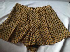 Topshop Mustard Shorts (Brand New- No Tags) Size UK 8 £35