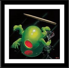 Michael Godard, Last Crawl, Framed Art, W/Matting  18x18