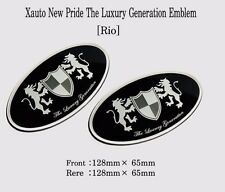 Art X Generation Front + Rear EMBLEM Badge 2EA for KIA Rio 2012 2015
