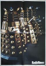 Doctor Who Radio Times Double Sided Poster 2005 - Daleks Ready For Action