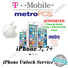 "T-MOBILE/METRO PCS USA IPHONE 7, 7+ OFFICIAL UNLOCK SERVICE "" EXPRESS """