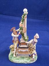 Nice Antique 18th Century Frankenthal Porcelain Porzellan Figurine Figural Group