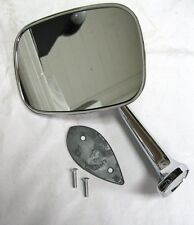 1968 - 1974 Chevy Corvette Outside Mirror Assembly LH Chevrolet Driver Side