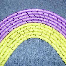 """10 Yards Grosgrain Korker Ribbon"" (Purple/Pistacio)"