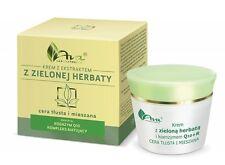 AVA Zielona Herbata krem do cery tłustej/ Green Tea cream for oily skin