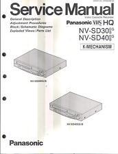 Panasonic Original Service Manual für  Panasonic NV - SD 30/40