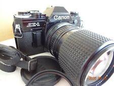 Near Mint Canon AE-1 35mm SLR Camera w/Tokina 35-105/3.5-4.3,strap Japan 2420