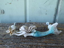 MERMAID HANDLE Drawer Dresser Knob Pull ~ Nautical Coastal Beach Home Decor BoHo