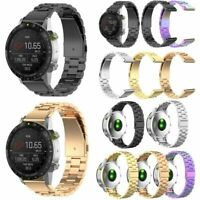 22mm Edelstahl Armband Uhrenarmband für Garmin Fenix 5 Plus/Forerunner 935/945