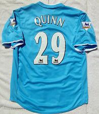 New SUNDERLAND #29 QUINN Home The Black Cats EPL UK Football Soccer Jersey Shirt