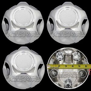 Set of 4 Ford CROWN VICTORIA P71 Wheel Center 5 Lug Nut Bolt Rim Covers Hub Caps