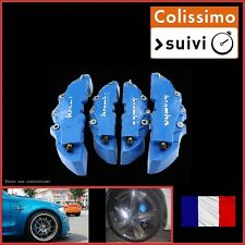 CACHE ETRIER FREIN TYPE BREMBO 3D UNIVERSEL BLEU TUNING RENAULT SCENIC 1,2,3,4